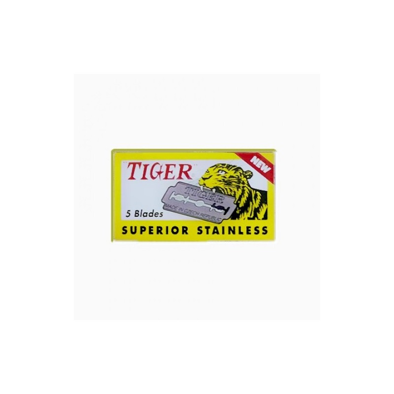 Lamette  Tiger stainless 20 pz