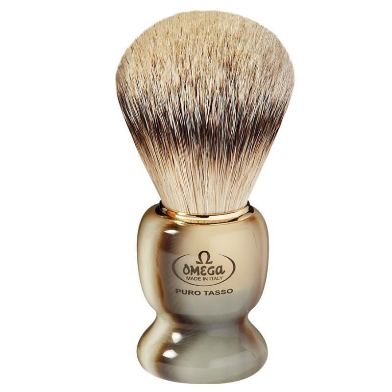 Pennello da barba in tasso Omega 621