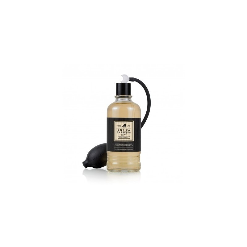 Antica barberia aftershave al mentolo e citrus con spruzzatore!